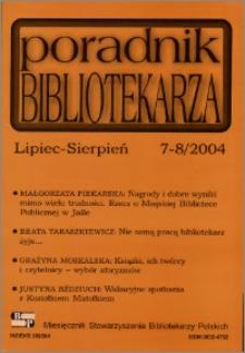 Poradnik Bibliotekarza 2004, nr 7-8