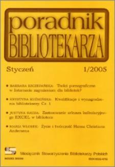 Poradnik Bibliotekarza 2005, nr 1