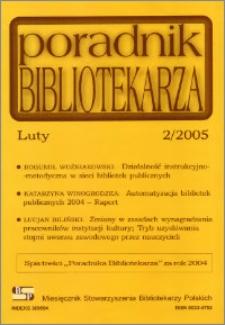 Poradnik Bibliotekarza 2005, nr 2
