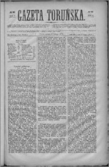 Gazeta Toruńska 1871, R. 5 nr 40