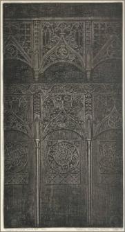 Gotyckie stalle w kościele NMP w Toruniu
