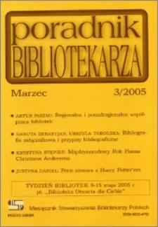 Poradnik Bibliotekarza 2005, nr 3
