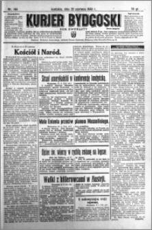 Kurjer Bydgoski 1933.06.25 R.12 nr 144