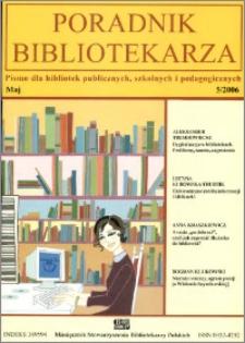 Poradnik Bibliotekarza 2006, nr 5