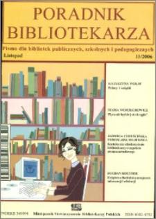 Poradnik Bibliotekarza 2006, nr 11