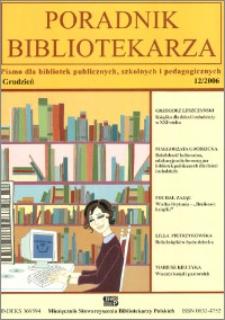 Poradnik Bibliotekarza 2006, nr 12