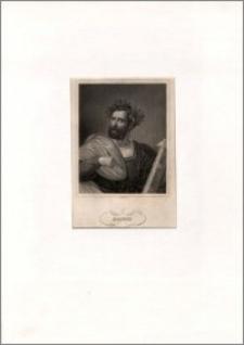 Ariost (portret w wieńcu laurowym, z księgą i piórem)