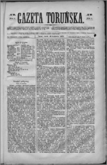 Gazeta Toruńska 1871, R. 5 nr 89