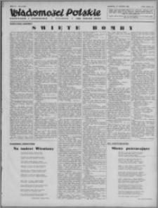 Wiadomości Polskie, Polityczne i Literackie 1943, R. 4 nr 8