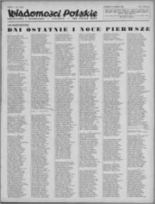 Wiadomości Polskie, Polityczne i Literackie 1943, R. 4 nr 11