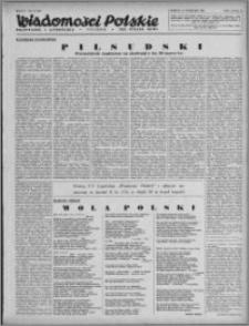 Wiadomości Polskie, Polityczne i Literackie 1943, R. 4 nr 27