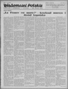 Wiadomości Polskie, Polityczne i Literackie 1943, R. 4 nr 20