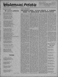 Wiadomości Polskie, Polityczne i Literackie 1943, R. 4 nr 21