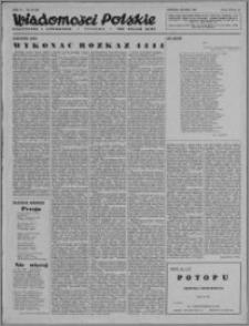 Wiadomości Polskie, Polityczne i Literackie 1943, R. 4 nr 22
