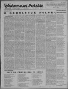 Wiadomości Polskie, Polityczne i Literackie 1943, R. 4 nr 23