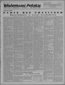 Wiadomości Polskie, Polityczne i Literackie 1943, R. 4 nr 25