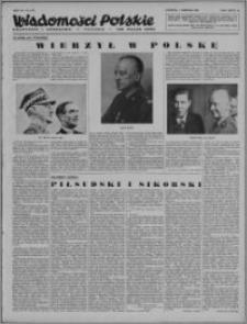 Wiadomości Polskie, Polityczne i Literackie 1943, R. 4 nr 31