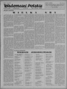 Wiadomości Polskie, Polityczne i Literackie 1943, R. 4 nr 32