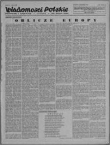 Wiadomości Polskie, Polityczne i Literackie 1943, R. 4 nr 49