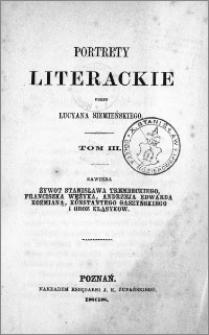 Portrety literackie. T. 3
