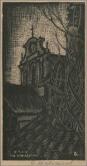 """Wilno - Kościół św. Katarzyny (z albumu """"Wilno w ebonicie"""")"""