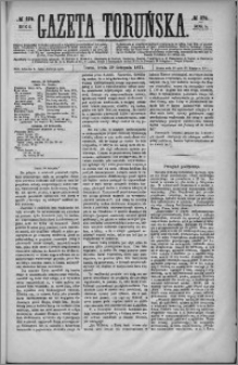 Gazeta Toruńska 1871, R. 5 nr 276