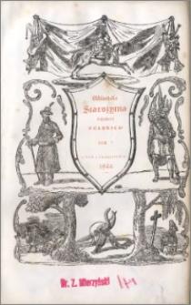 Biblioteka starożytna pisarzy polskich. T. 5