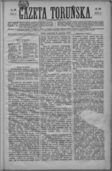 Gazeta Toruńska 1872, R. 6 nr 19