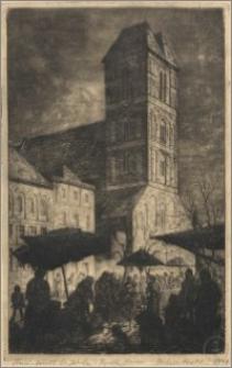 Kościół św. Jakuba i Rynek Nowomiejski w Toruniu