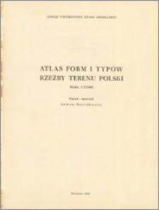 Atlas form i typów rzeźby terenu Polski : skala 1:25 000