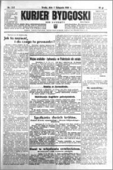 Kurjer Bydgoski 1933.11.01 R.12 nr 252