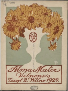 Alma Mater Vilnensis 1924, z. 2
