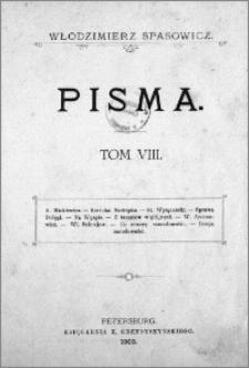 Pisma. T. 8