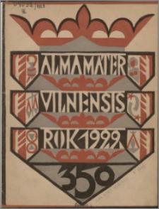 Alma Mater Vilnensis 1929, z. 8