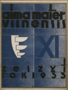 Alma Mater Vilnensis 1933, z. 11