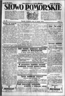 Słowo Pomorskie 1925.02.15 R.5 nr 38