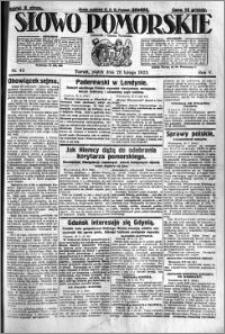Słowo Pomorskie 1925.02.20 R.5 nr 42