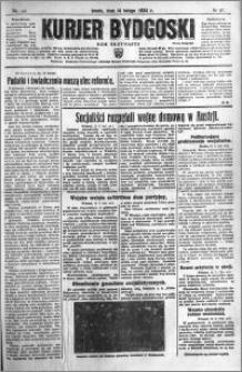 Kurjer Bydgoski 1934.02.14 R.13 nr 35