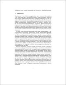 Refleksje na temat rozwoju informatyki na Uniwersytecie M. Kopernika