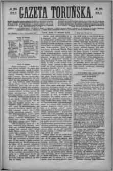 Gazeta Toruńska 1872, R. 6 nr 184