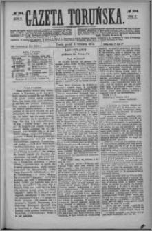 Gazeta Toruńska 1872, R. 6 nr 204