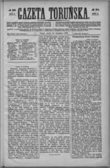 Gazeta Toruńska 1872, R. 6 nr 214