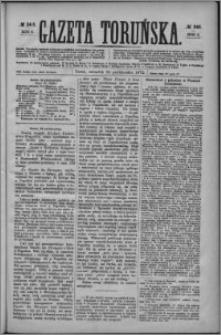 Gazeta Toruńska 1872, R. 6 nr 245