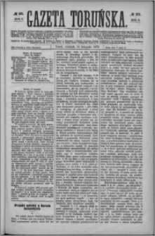 Gazeta Toruńska 1872, R. 6 nr 271