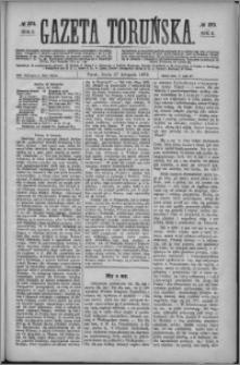Gazeta Toruńska 1872, R. 6 nr 273