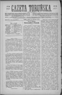 Gazeta Toruńska 1873, R. 7 nr 14
