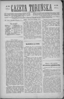 Gazeta Toruńska 1873, R. 7 nr 20