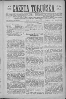 Gazeta Toruńska 1873, R. 7 nr 34