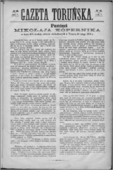 Gazeta Toruńska 1873, R. 7 nr 41