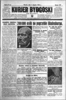 Kurjer Bydgoski 1934.08.07 R.13 nr 178